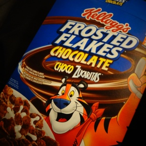 Choco Frosted Flakes!