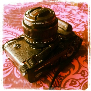 My baby: Fuji X-Pro1 (and the35mm)