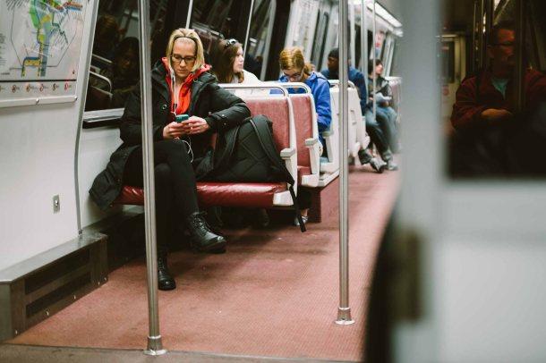 Cutie in Metro