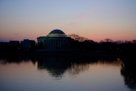Dawn at the Tidal Basin