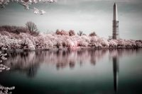 Infrared Monument Reflection