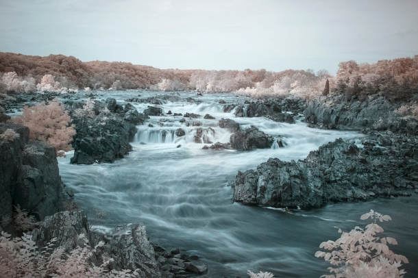 Infrared Great Falls Overlook