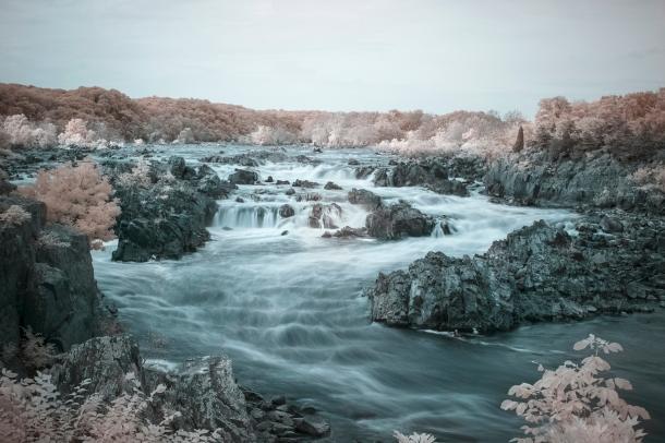Infrared Great Falls Overlook