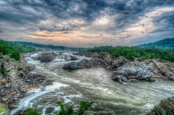 Great Wide Falls HDR