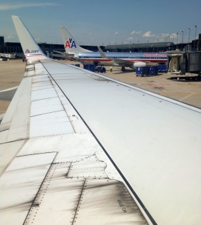 American Airlines blows…