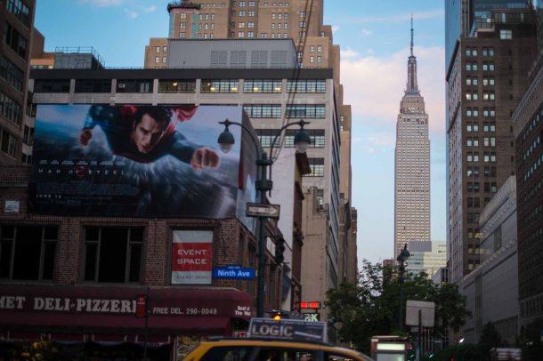 Walking around NY