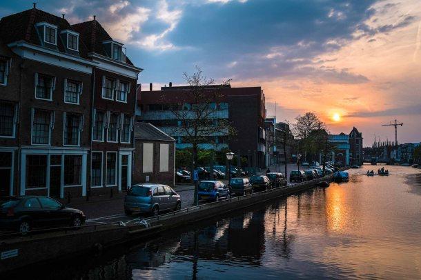 Leiden Sunset