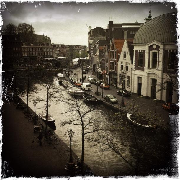 Looking Down on Leiden