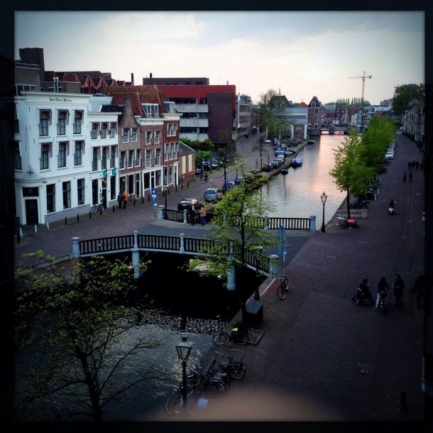Sunset in Leiden