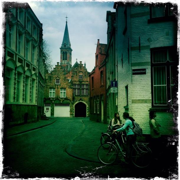 Leaving Bruges